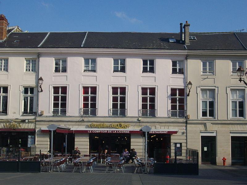 Photo du Monument Historique Maisons situé à Châlons-sur-Marne