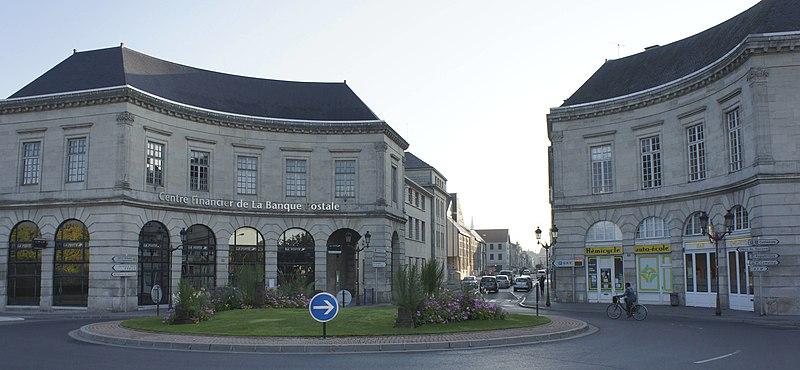 Photo du Monument Historique Maisons formant hémicycle situé à Châlons-sur-Marne