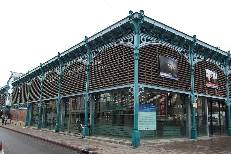 Photo du Monument Historique Marché couvert situé à Châlons-en-Champagne