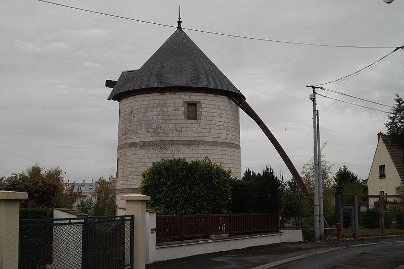 Photo du Monument Historique Moulin à vent situé à Châlons-en-Champagne