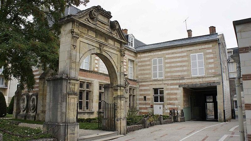 Photo du Monument Historique Musée Garinet situé à Châlons-en-Champagne