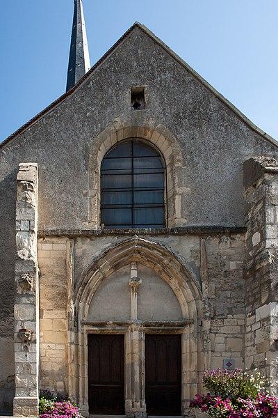 Photo du Monument Historique Eglise Saint-Pierre-Saint-Paul situé à Chamery