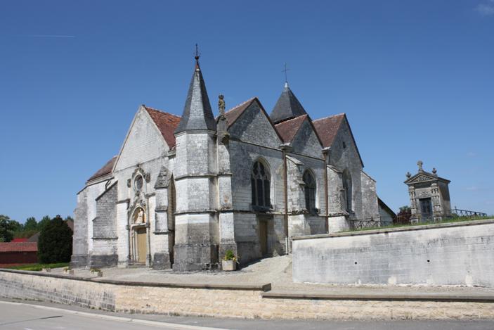 Photo du Monument Historique Eglise situé à Chapelaine