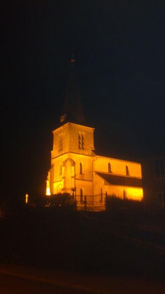 Photo du Monument Historique Eglise de Chatel-Raould situé à Châtelraould-Saint-Louvent