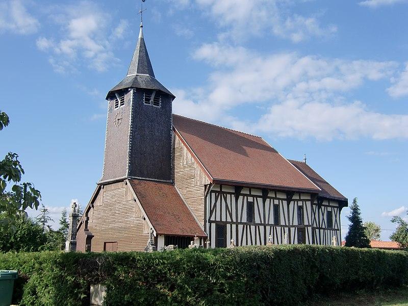 Photo du Monument Historique Eglise situé à Châtillon-sur-Broué