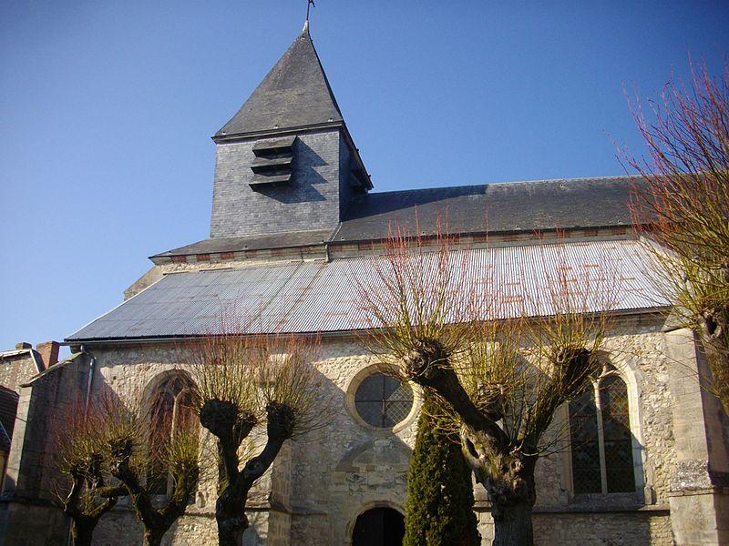 Photo du Monument Historique Eglise situé à Châtillon-sur-Marne