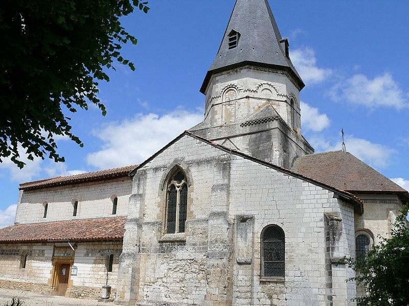 Photo du Monument Historique Eglise Saint-Pierre-de-Coulmiers situé à Chaussée-sur-Marne (La)