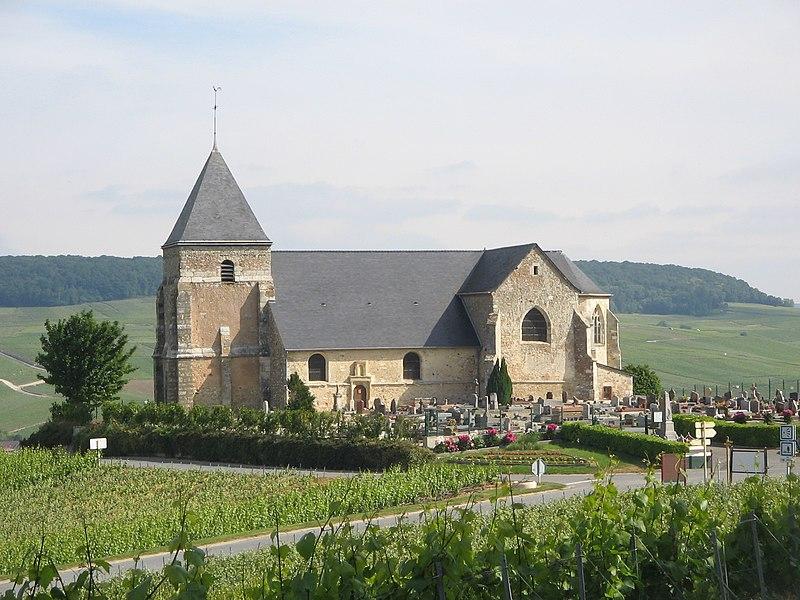 Photo du Monument Historique Eglise situé à Chavot-Courcourt