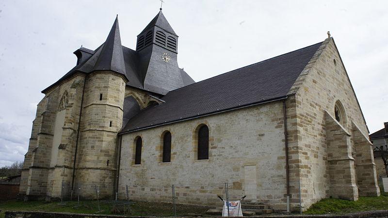 Photo du Monument Historique Eglise Saint-Nicolas situé à Cheminon