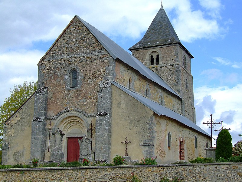 Photo du Monument Historique Eglise de Coizard situé à Coizard-Joches
