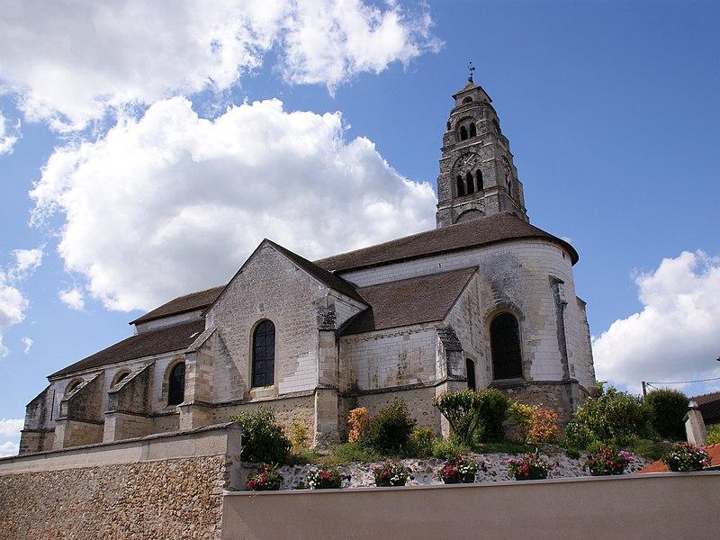 Photo du Monument Historique Eglise situé à Condé-sur-Marne