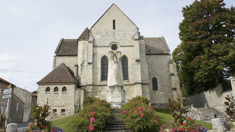 Photo du Monument Historique Eglise situé à Cormicy