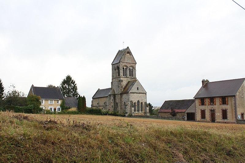 Photo du Monument Historique Eglise situé à Corribert