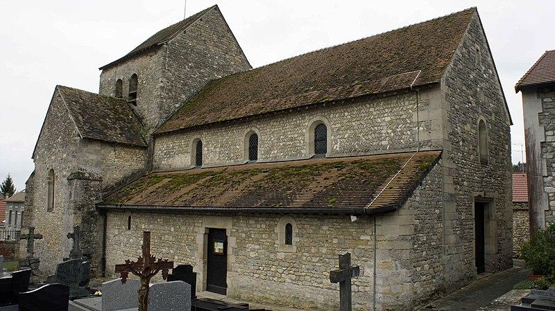 Photo du Monument Historique Eglise paroissiale situé à Coulommes-la-Montagne