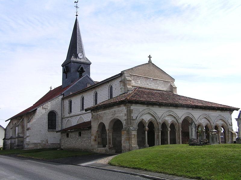 Photo du Monument Historique Eglise situé à Coupéville