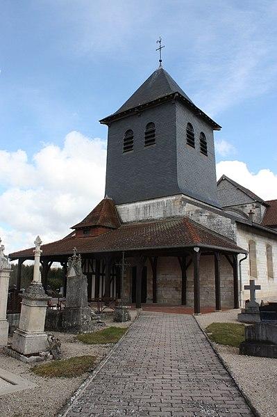 Photo du Monument Historique Eglise situé à Courdemanges