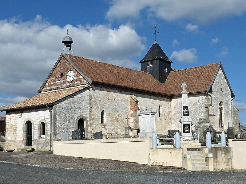 Photo du Monument Historique Eglise situé à Courtémont
