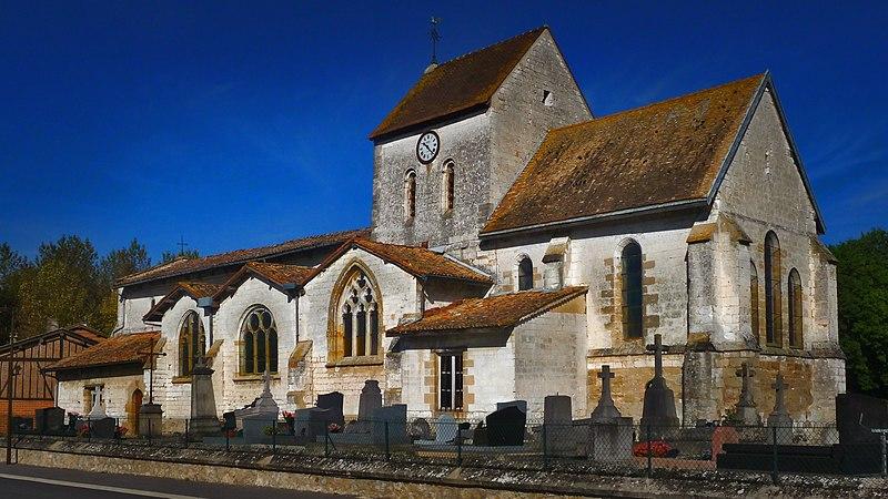 Photo du Monument Historique Eglise Saint-Memmie situé à Courtisols