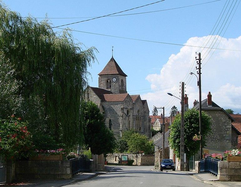 Photo du Monument Historique Eglise situé à Crugny