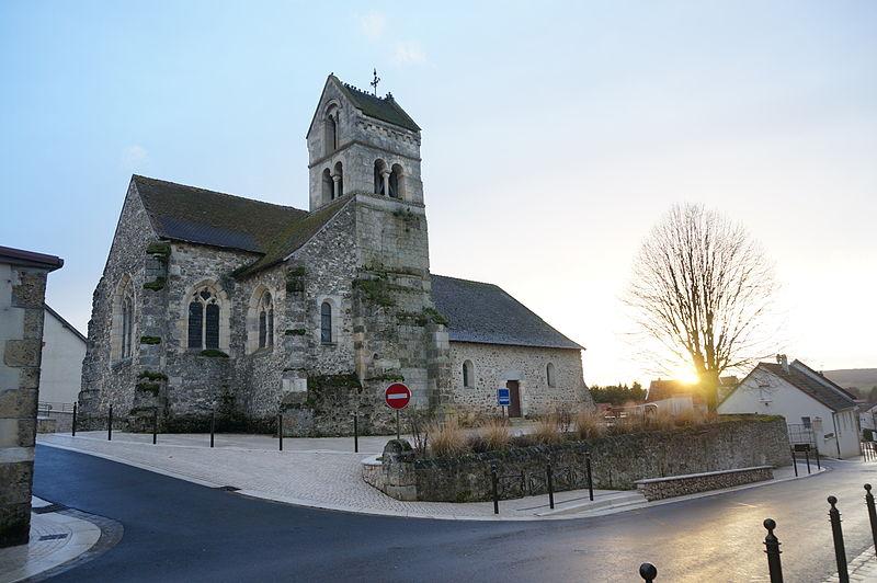 Photo du Monument Historique Eglise situé à Cuchery