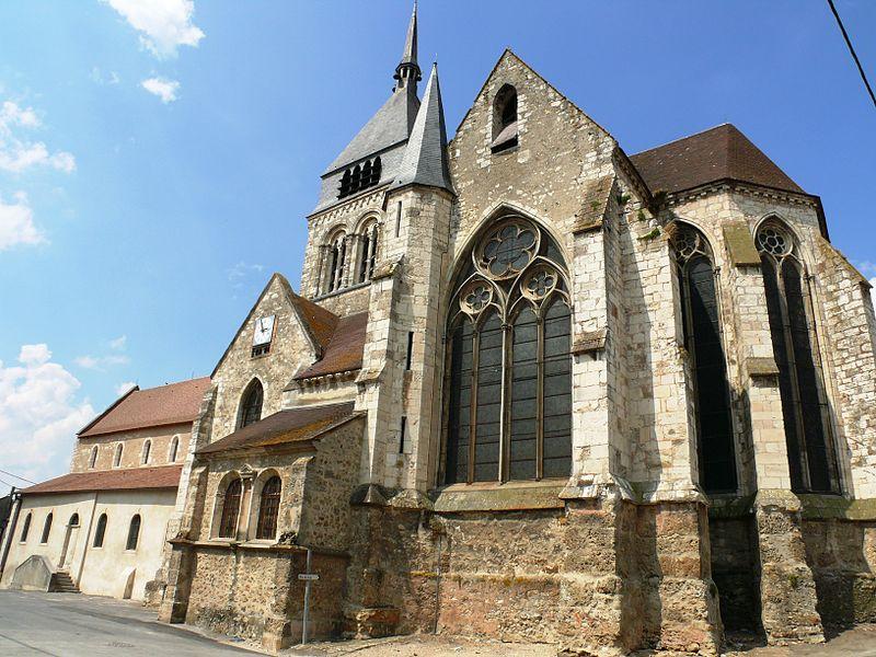 Photo du Monument Historique Eglise Saint-Georges situé à Damery