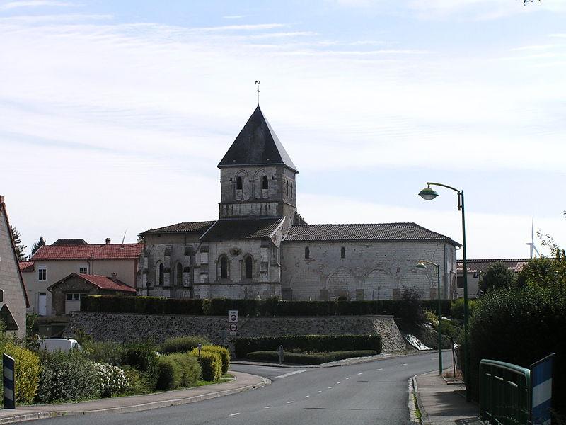 Photo du Monument Historique Eglise situé à Dampierre-sur-Moivre