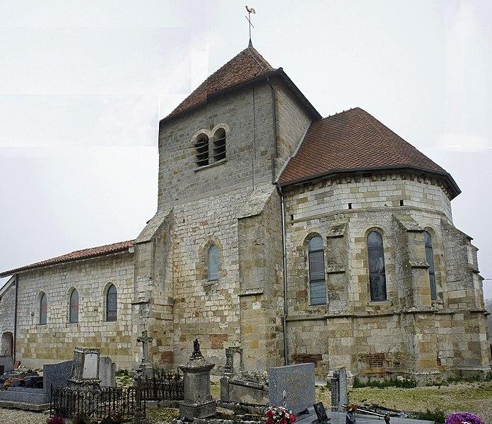 Photo du Monument Historique Eglise situé à Dommartin-sous-Hans