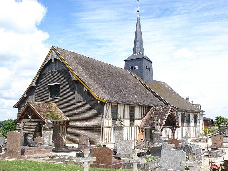 Photo du Monument Historique Eglise situé à Drosnay