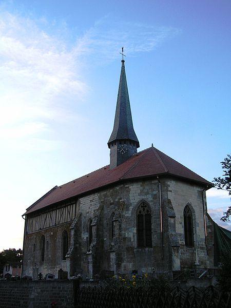 Photo du Monument Historique Eglise situé à Ecriennes