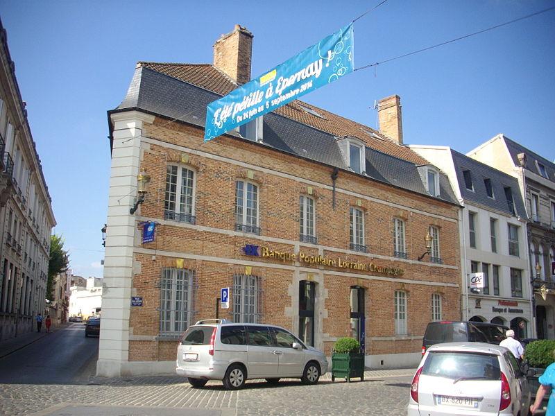 Photo du Monument Historique Immeuble situé à Epernay