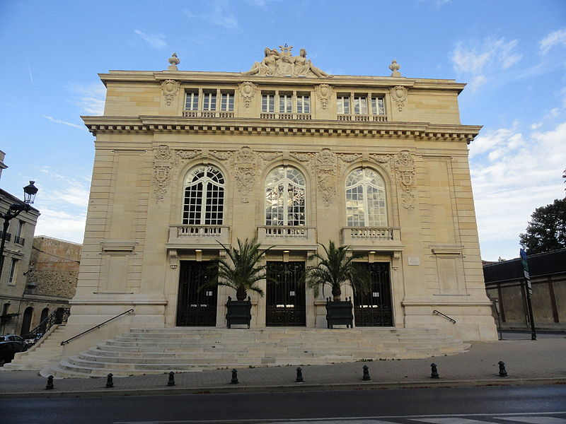 Photo du Monument Historique Théâtre situé à Epernay