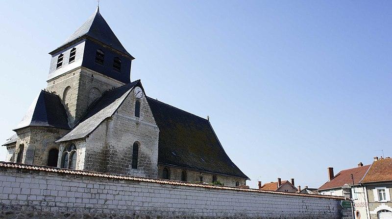 Photo du Monument Historique Eglise situé à Epoye