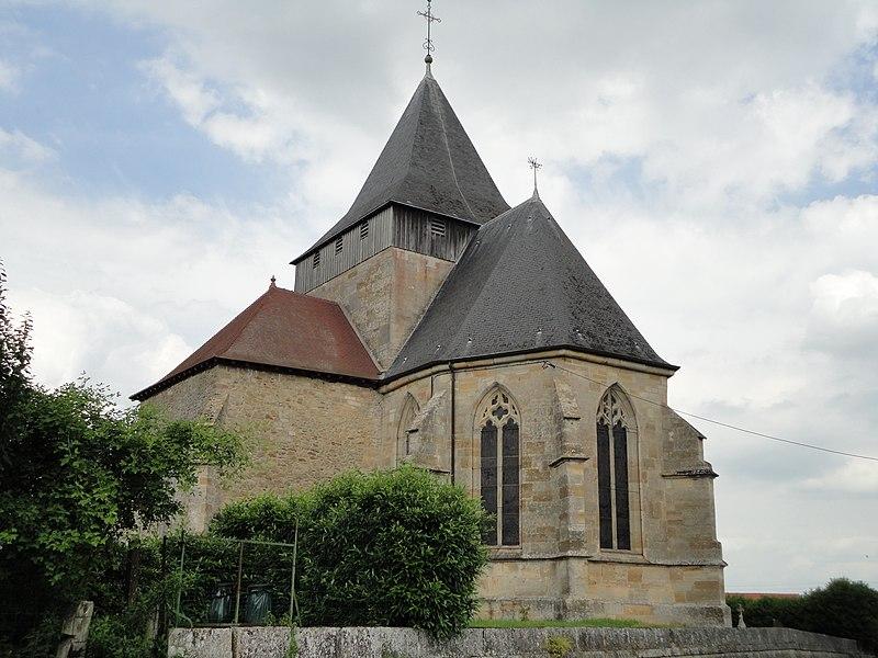 Photo du Monument Historique Eglise situé à Etrepy