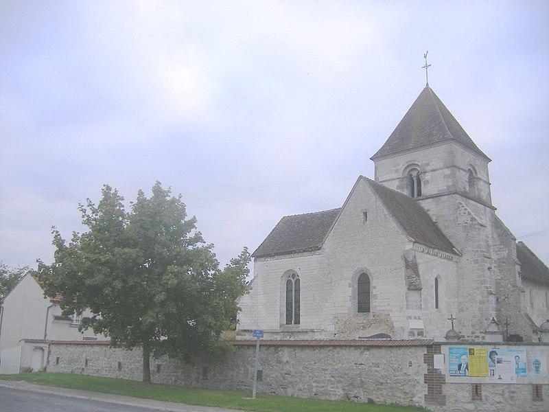 Photo du Monument Historique Eglise situé à Euvy