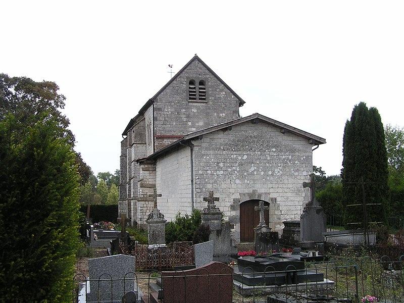 Photo du Monument Historique Eglise de Faux-sur-Coole situé à Faux-Vésigneul
