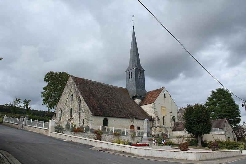 Photo du Monument Historique Eglise situé à Festigny