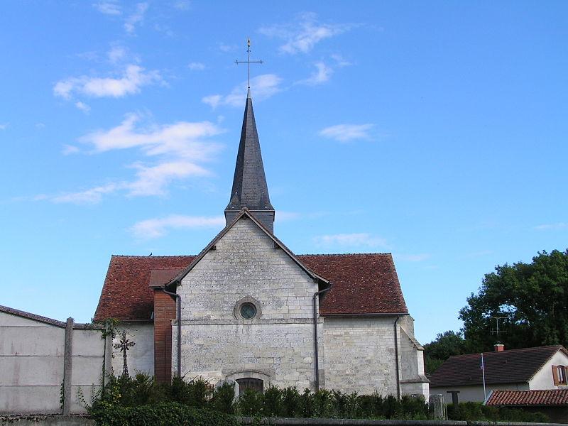 Photo du Monument Historique Eglise de Bussy-aux-Bois situé à Gigny-Bussy