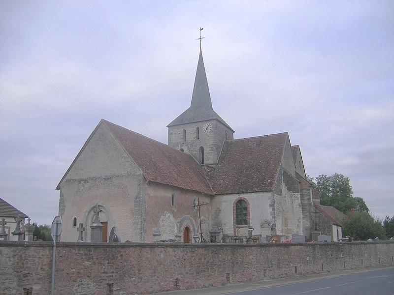 Photo du Monument Historique Eglise situé à Gourgançon