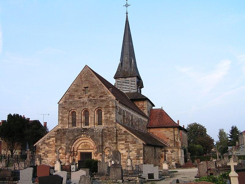 Photo du Monument Historique Eglise situé à Heiltz-le-Maurupt