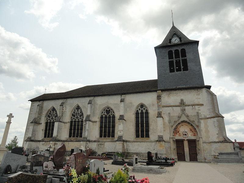 Photo du Monument Historique Eglise situé à Huiron