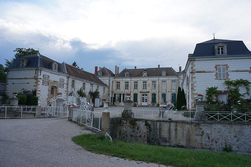 Photo du Monument Historique Château de Juvigny situé à Juvigny