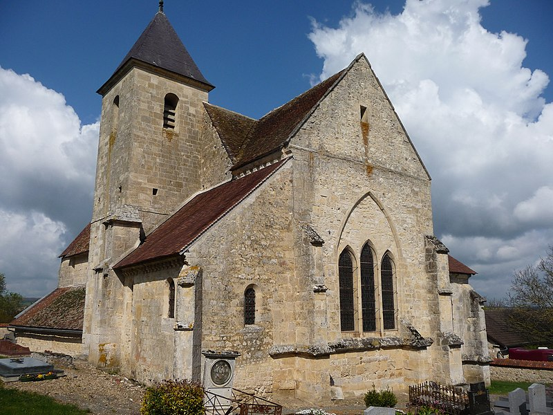 Photo du Monument Historique Eglise Saint-Martin situé à Lagery