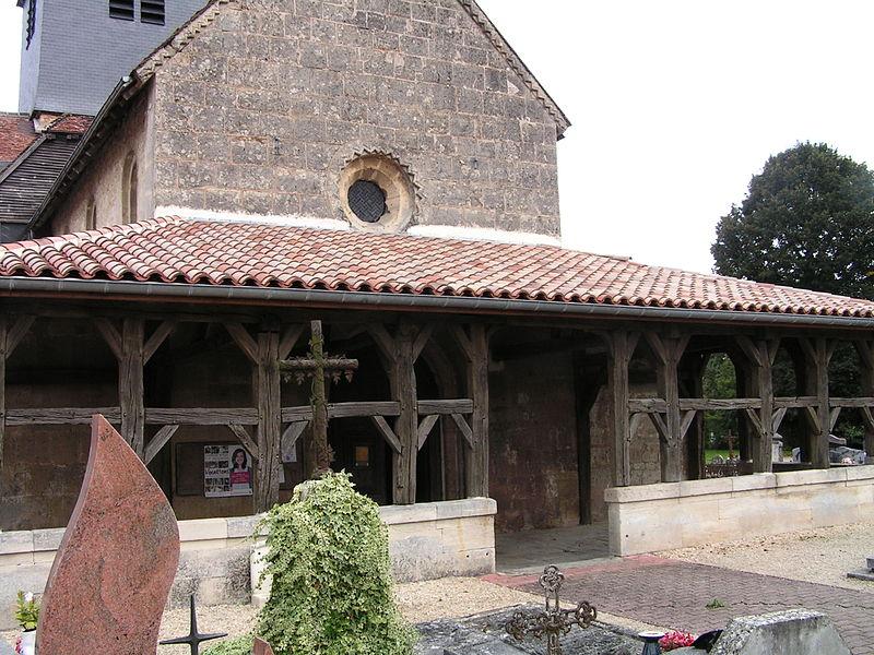 Photo du Monument Historique Eglise Saint-Georges situé à Larzicourt