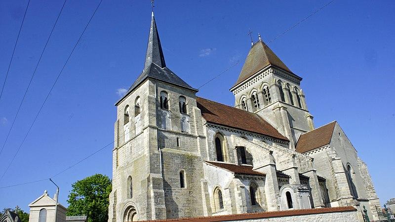 Photo du Monument Historique Eglise situé à Lavannes