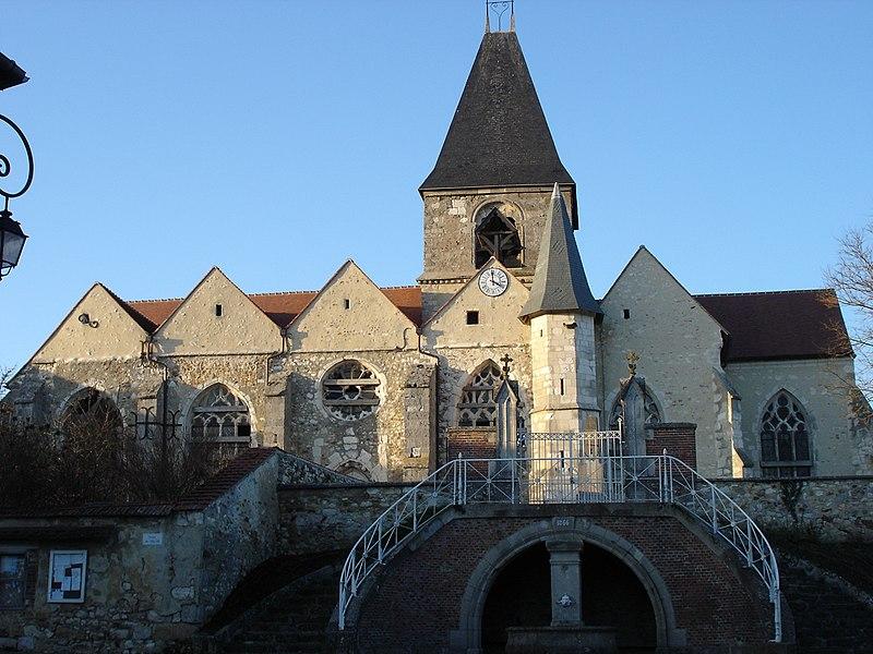 Photo du Monument Historique Eglise Saint-Georges situé à Loisy-en-Brie