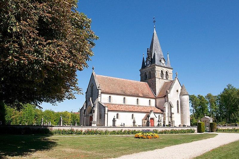 Photo du Monument Historique Eglise situé à Maisons-en-Champagne
