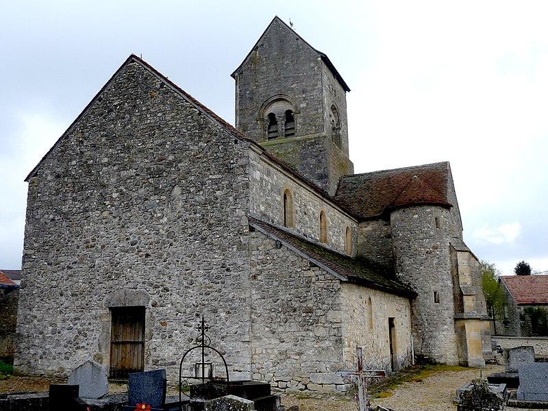 Photo du Monument Historique Eglise situé à Marfaux