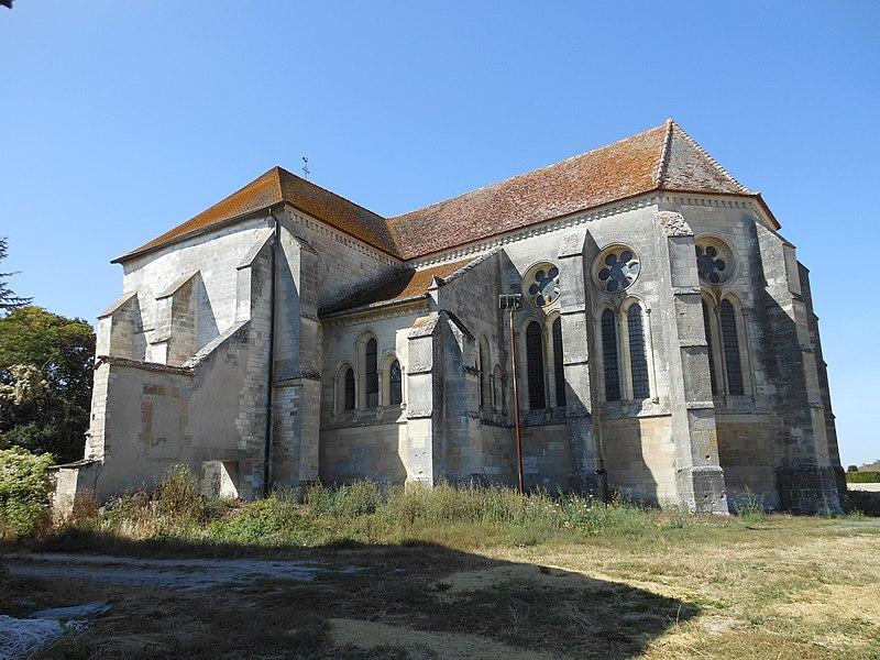 Photo du Monument Historique Eglise Sainte-Marguerite situé à Margerie-Hancourt