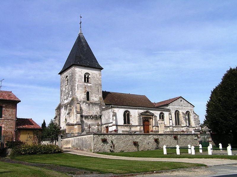 Photo du Monument Historique Eglise situé à Marson