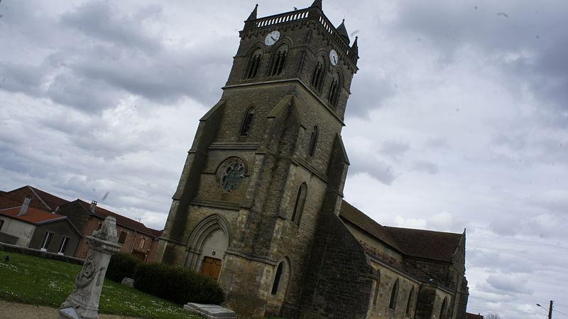 Photo du Monument Historique Eglise situé à Maurupt-le-Montois